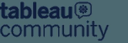 Tableau Community